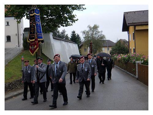 Krieger und Soldatenverein KSV-Zeitlarn: Heimkehrer.- Friedenswallfahrt auf den Bogenberg 2016