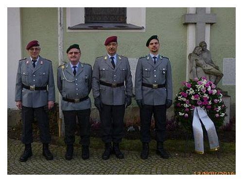Krieger und Soldatenverein KSV-Zeitlarn: Volkstrauertag 2016