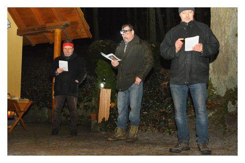 Krieger und Soldatenverein KSV-Zeitlarn: Waldweihnacht